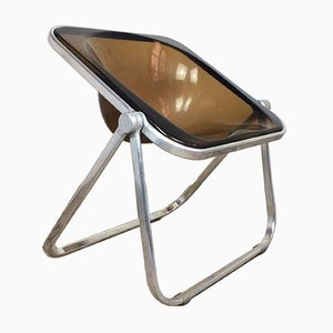 Mid-Century Modern Italian Plona Folding Chair by Giancarlo Piretti for Castelli, 1970s