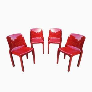 Italienische Selene Stühle von Vico Magistretti für Artemide, 1960er, 2er Set
