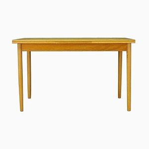 Danish Modern Ash Side Table, 1960s