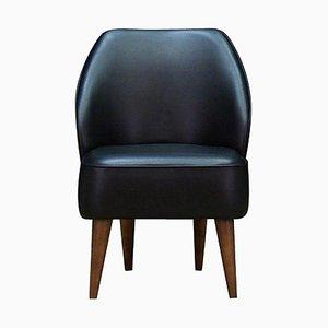 Eco-Leather Armchair, 1980s