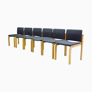 Vintage Stühle von Fritz Hansen, 1960er, 6er Set
