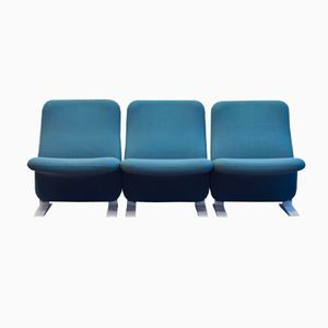 Concorde Chair by Pierre Paulin for Artifort, Set of 3