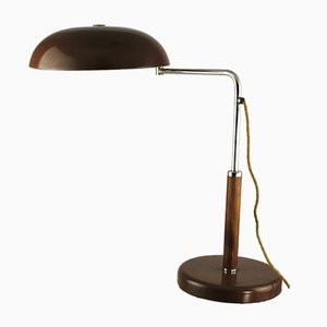 Vintage Art Deco Table Lamp by Alfred Müller for Belmag
