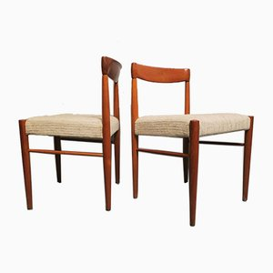 Mid-Century Danish Side Chairs by H. W. Klein, 1960s, Set of 2