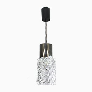 Crystal Glass Pendant Lamp from Cosack, 1960s