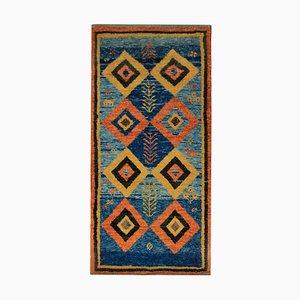 Vintage Middle Eastern Vibrant Woolen Carpet