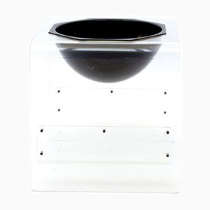 Mid-Century Space Age Lucite Wine Bucket, 1960s
