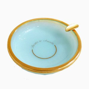 Mid-Century French Pastis 51 Anisette Oval Ashtray from Opalex