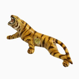 Mid-Century Italian Tiger Sculpture from Favaro Cecchetto