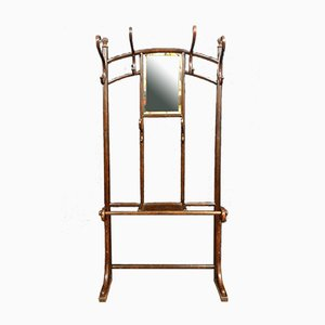 Napoleon III Curved Wood Rack from Thonet