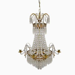 Antique Prisms Chandelier