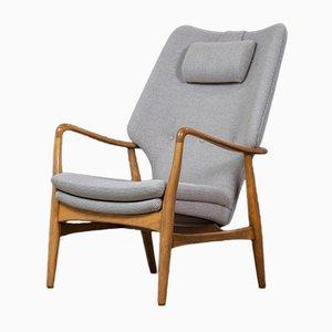 Mid-Century Danish Lounge Chair by Madsen & Schübel, 1950s