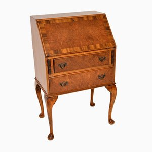 Burr Walnut Writing Bureau Desk, 1930s