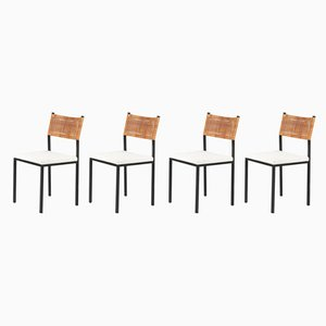 Dining Chairs by Gijs van der Sluis, 1950s, Set of 4