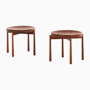 Side Tables by Jens Harald Quistgaard for Nissen Naarden, 1960s, Set of 2