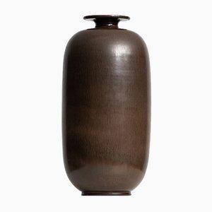 Vaso in ceramica di Berndt Friberg per Gustavsberg, anni '50