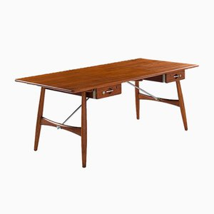 JH-571 Desk by Hans Wegner for Johannes Hansen, 1950s