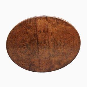 19th-Century Burr Walnut Sutherland Table