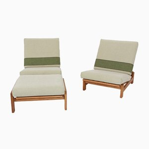 Mid-Century Living Room Set by Hans J. Wegner for Getama, Set of 3