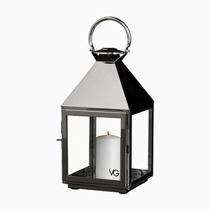Small Lanterna Top Pyramid-Shaped in Acciaio Inox from VGnewtrend