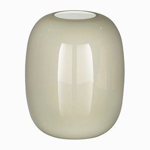 Italian Light Grey Murano Glass Trieste Vase by Marco Segantin for Vgnewtrend