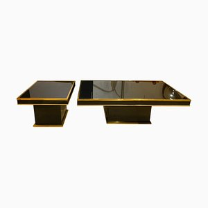 Vintage Coffee Tables by Willy Rizzo, Set of 2
