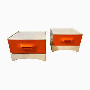 Nightstands by Marc Held for Prisunic, 1970s, Set of 2