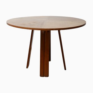 Mid-Century French Dining Table by Guillerme et Chambron, 1960s