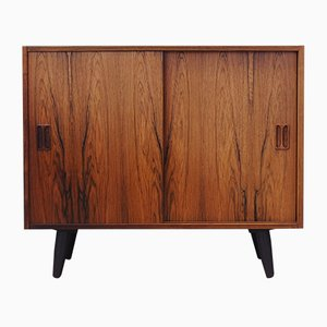 Danish Rosewood Cabinet by Emil Clausen, 1970s