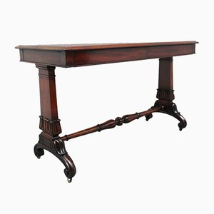 Early 19th-Century Mahogany Library Table