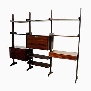 Rosewood Shelf by Edmondo Palutari for Dassi, 1964