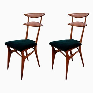 Dining Chairs by Silvio Cavatorta for Cavatorta, 1950s, Set of 2