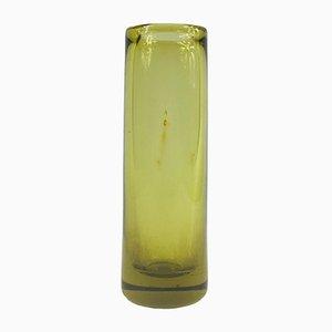 Vintage Danish Glass Vase by Per Lütken for Holmegaard, 1959