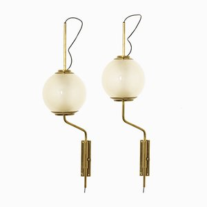 LP11 Wall Lights by Luigi Caccia Dominioni for Azucena, 1950s, Set of 2