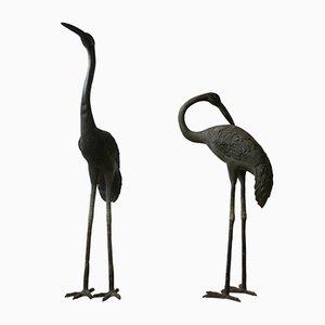 Early 20th-Century Decorative Garden Cranes