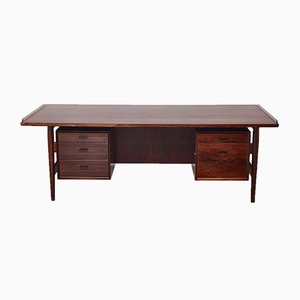Rosewood Model 207 Desk by Arne Vodder, 1960s