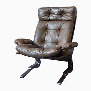 Scandinavian Lounge Chair by Ingmar Relling, 1960s