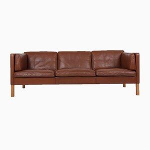3-Sitzer Modell 2443 Sofa von Børge Mogensen für Fredericia, 1980er