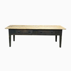 Vintage Large Fir Console Table