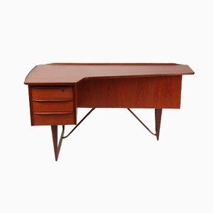 Boomerang Schreibtisch von Peter Lovig Nielsen für Hedensted, 1964