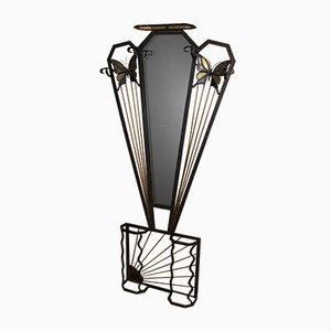 Art Deco Wrought Iron Rack, 1930s