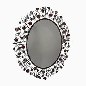 Vintage Rose Messing Spiegel