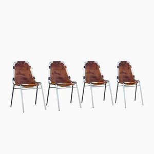 Chaises de Salon par Charlotte Perriand, 1970s, Set de 4