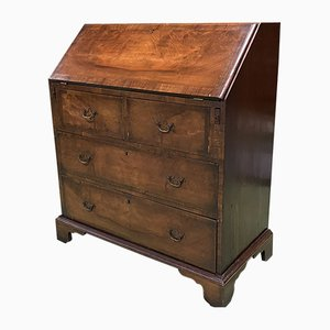 19th Century English Walnut Secretaire