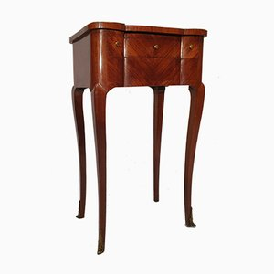 Transition Louis XV, Louis XVI Rosewood Side Table