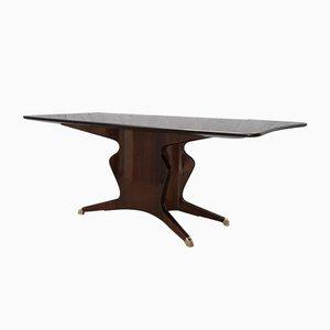 Mid-Century Mahogany Rectangular Dining Table by Fossati Attilio & Arturo, 1957