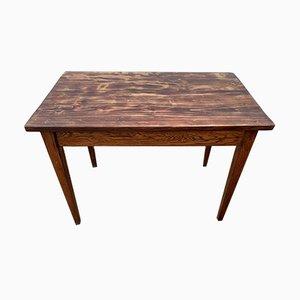 Massiver Vintage Schreibtisch oder Beistelltisch