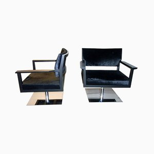 Lounge Chairs from Giulio Marelli, 2000s, Set of 2