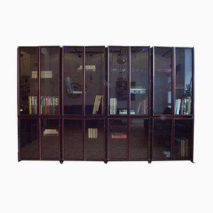 Mid-Century Rosewood Bookcase by Claudio Salocchi for Luigi Sormani