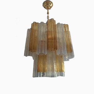 Murano Glass Tronchi Sputnik Chandelier from Italian Light Design